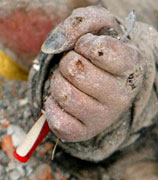 手的诉说悲情的力量