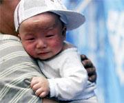 孩子别哭!